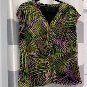 Size 1x sleeveless blouse Worthigton brand